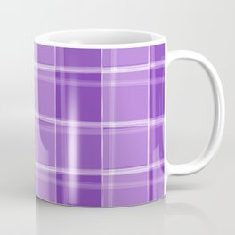 Chalk strokes of light and violet lines on a calm background. Coffee Mug