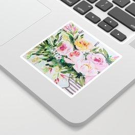 Peony bouquet Sticker