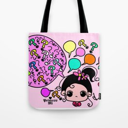 why why why Tote Bag
