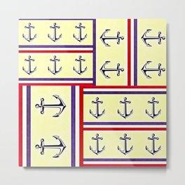 Nautical Metal Print