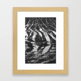 Meadows near Gouda, the Netherlands Framed Art Print