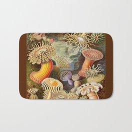 Haeckel Illustration - Marine Life Bath Mat