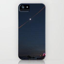 2017 Total Solar Eclipse 2 iPhone Case