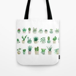 Tiny garden Tote Bag