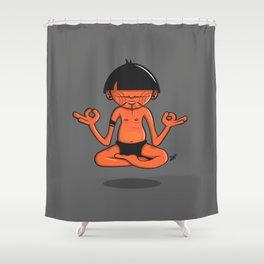 Pacha Om Yanomami Shower Curtain