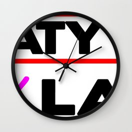 Sweaty Now Sexy Later Fitness & Bodybuilding Motivation Quote Wall Clock