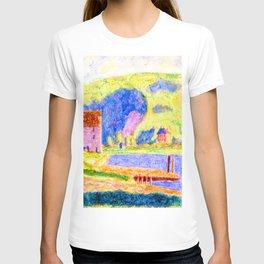 Oscar Bluemner Cold Spring Harbor T-shirt