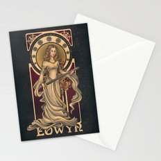 Shieldmaiden of Rohan Nouveau Stationery Cards