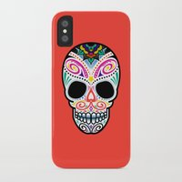 mexican iPhone & iPod Cases featuring Mexican Skull by Blank & Vøid