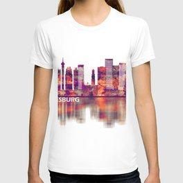 Johannesburg South Africa Skyline T-shirt
