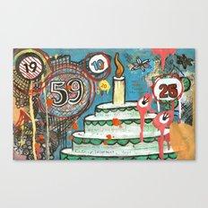 I Love Cake!  Canvas Print