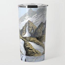 AN ALPINE LAKE Travel Mug