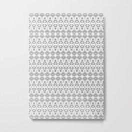 Polynesian pattern Metal Print