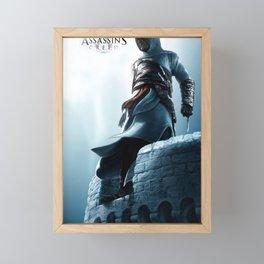 Assassin cr poster Framed Mini Art Print