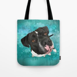 SMiTHY (shelter pup) Tote Bag