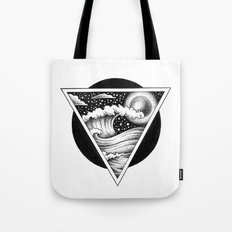 GIANT WAVES Tote Bag