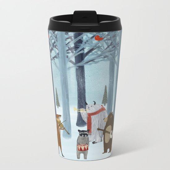 nature symphony Metal Travel Mug