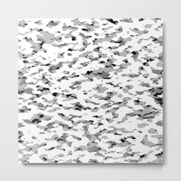 Camouflage: Alpine VI Metal Print