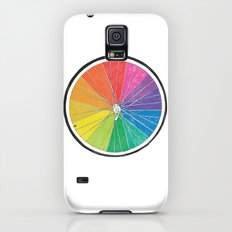 Color Wheel (Society6 Edition) Slim Case Galaxy S5