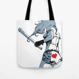 Vandal Punk Girl Tote Bag