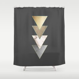 Triangled Shower Curtain