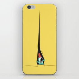 Peek show! iPhone Skin