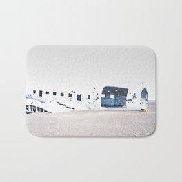 Crashed Plane Iceland Bath Mat
