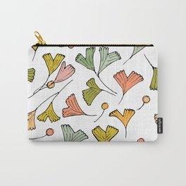 Dreaming In Pastel Gingko Carry-All Pouch