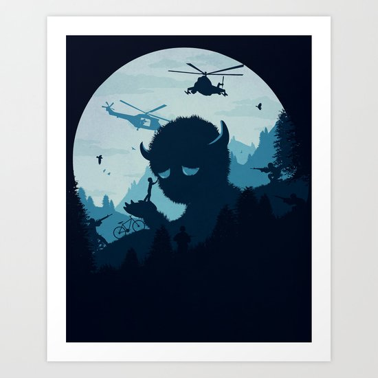 So Long, Buddy Art Print