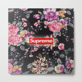 Flower supreme Metal Print