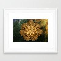 celtic Framed Art Prints featuring Celtic Gold by Lynn Bolt