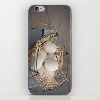 eggs iPhone & iPod Skins featuring Eggs by Luisa Morón-Fotografía