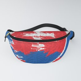 Extruded flag of Slovakia Fanny Pack