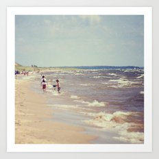End Of Summer #2 Art Print