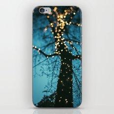 Bokeh tree. iPhone & iPod Skin