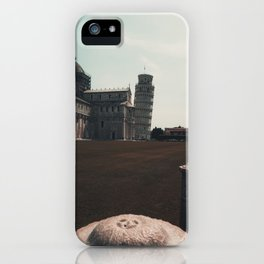 Leaning tower iPhone Case