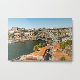 Porto Panoramic Metal Print