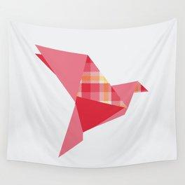 Origami Flight Wall Tapestry