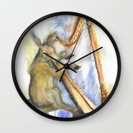 The Poet Wall Clock