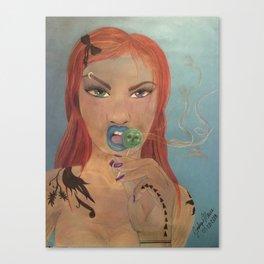 Lolly Licker Canvas Print
