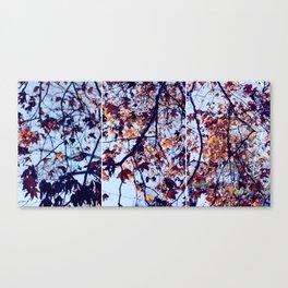 Tri Tree Canvas Print