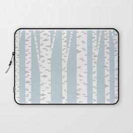 Minimalist Birch Trees by Amanda Laurel Atkins Laptop Sleeve