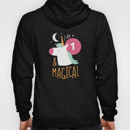 1st Birthday Girl Unicorn Gift Hoody
