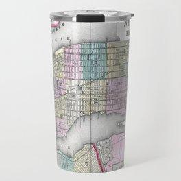 New York City and Brooklyn Travel Mug