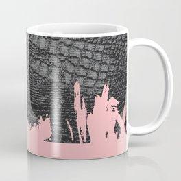 Snake skin texture abstract art print Coffee Mug