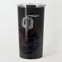 cobra rosa Travel Mug