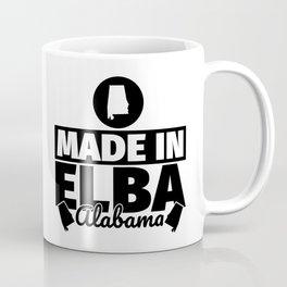 Elba Alabama - Funny made in gift Coffee Mug