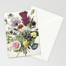 Bouquet of Flowers - Vintage Illustration, 1680 Stationery Cards