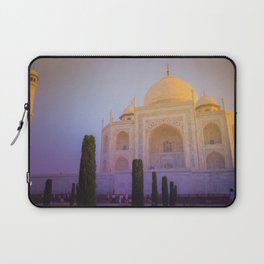 Morning Colors over Taj Mahal Laptop Sleeve
