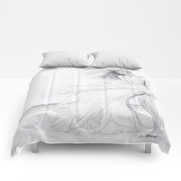 Gracefully Weathering the Storm Comforters